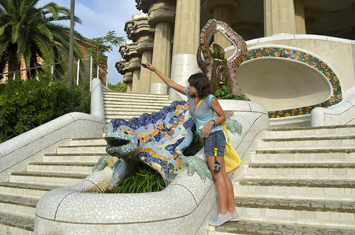 12_Barcelona  Parc Guell